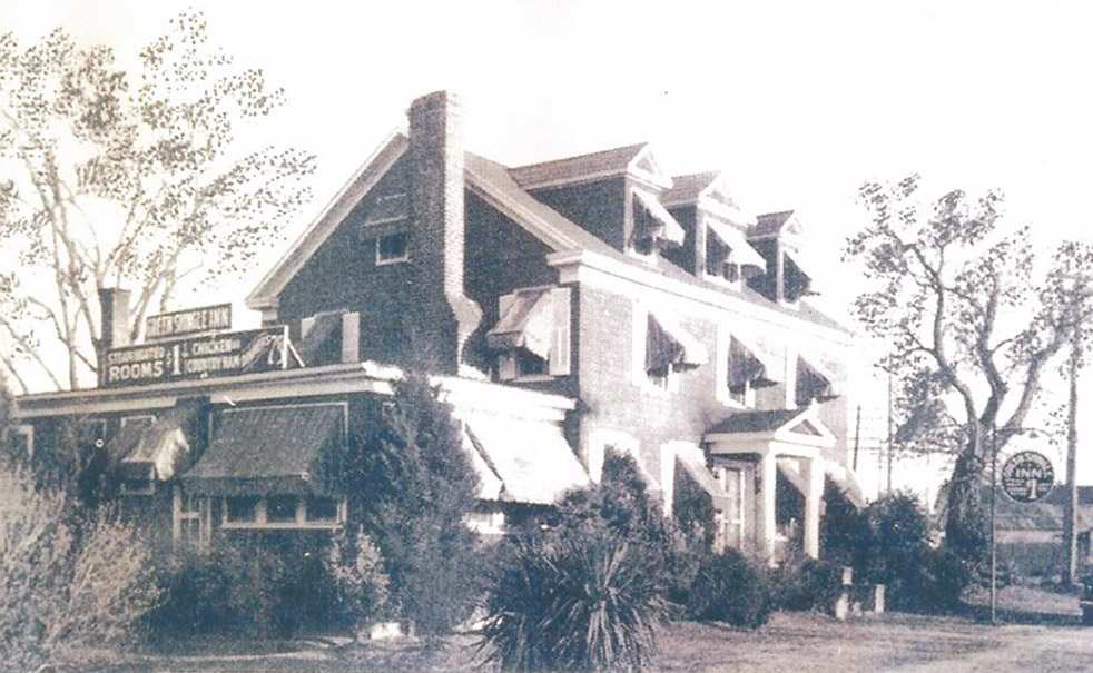 Green Shingle Inn: Lost to highway improvements in 1966