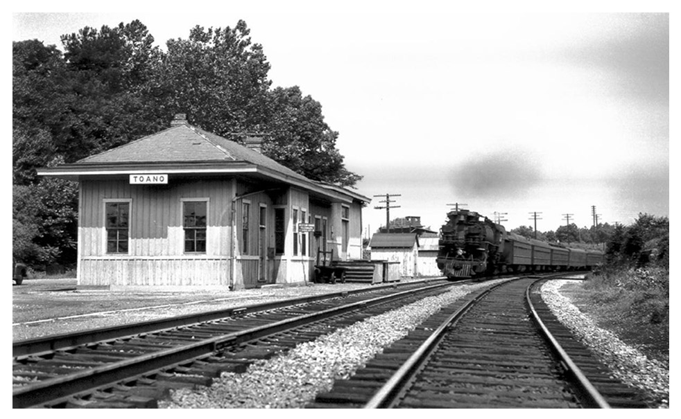 Toano Depot: Removed in 1968